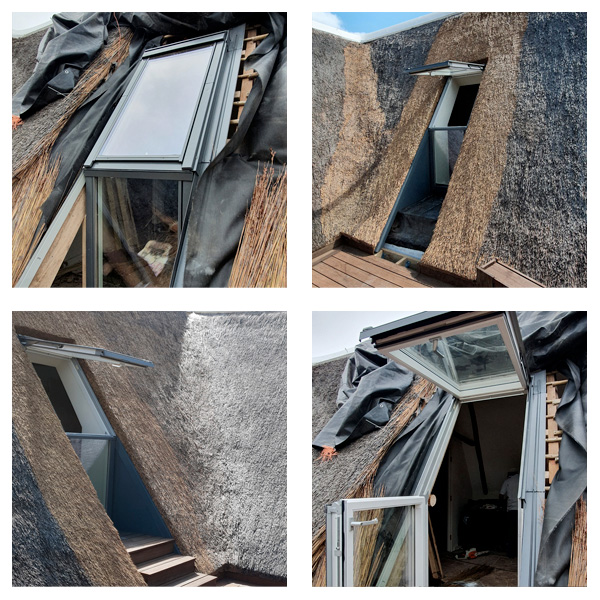 Roof Windows in Thatch Roofs